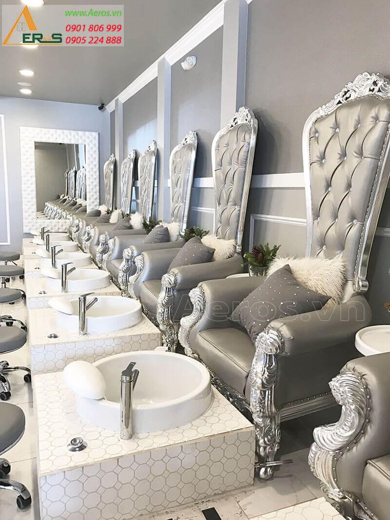 Thiết kế nail salon Hora của chị Mỹ tại quận 1