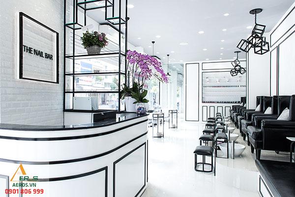 thiết kế tiệm nail the nail bar