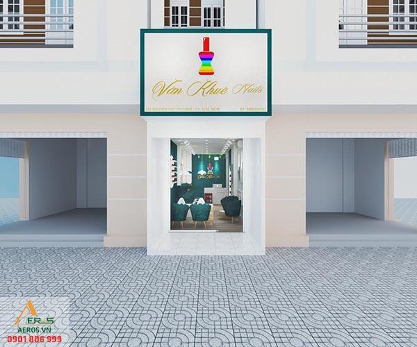 Thiết kế tiệm nail Vân Khuê tại quận 10, TP.HCM