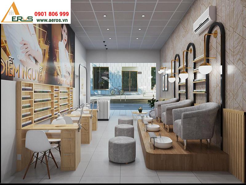 Thiết kế tiệm nail Diễm Nguyễn tại quận 9