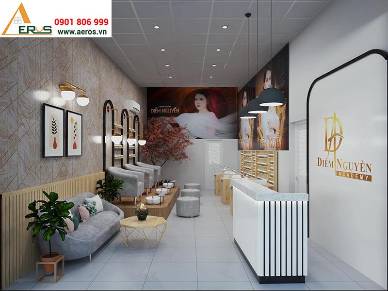 Thiết kế tiệm nail Diễm Nguyễn tại quận 9, TPHCM